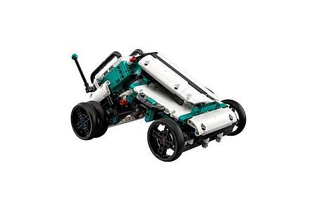 Roboter M.V.P. in Buggy-Gestalt. Foto: Lego/dpa-tmn