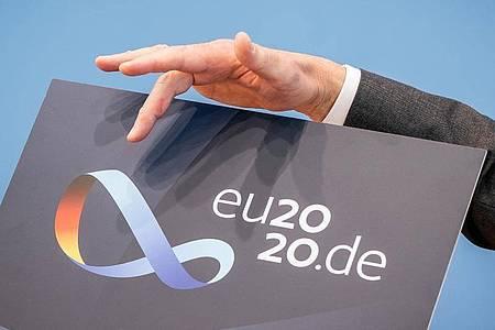 Deutschland übernimmt ab 1. Juli die EU-Ratspräsidentschaft. Foto: Michael Kappeler/dpa