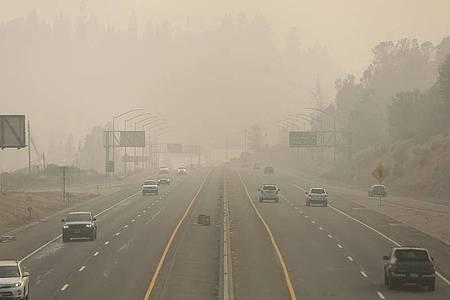 Der Rauch beeinträchtigt das Leben von Millionen von Menschen. Foto: Elias Funez/The Union/AP/dpa