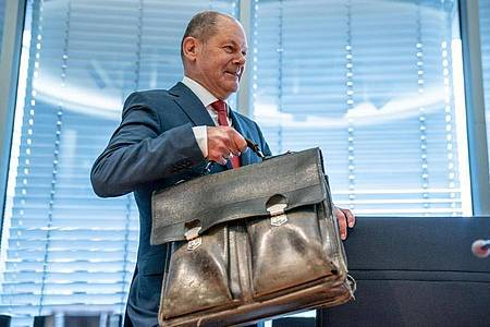 «Wir brauchen ein leistungsgerechteres Steuersystem», meint Bundesfinanzminister Olaf Scholz. Foto: Michael Kappeler/dpa