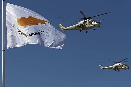 Zypern verlangt von der EU mehr Hilfe gegen die Türkei. Die Sanktionsdrohungen werden aufrecht gehalten. Foto: Petros Karadjias/AP/dpa