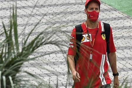 Sebastian Vettel wird Ferrari verlassen. Foto: Kirill Kudryavtsev/Pool AFP/AP/dpa