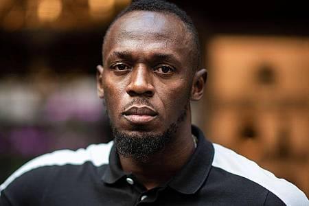 Befindet sich derzeit in Quarantäne: Usain Bolt. Foto: Martin Bureau/AFP/dpa