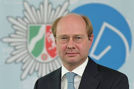 Landrat Dr. Olaf Gericke als Behördenleiter der Kreispolizeibehörde Warendorf