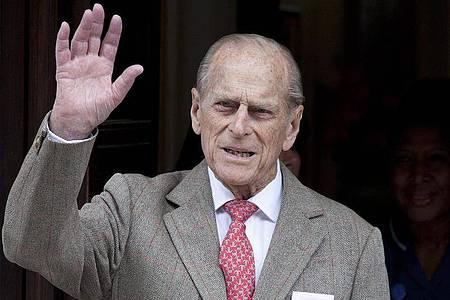TV-Sender haben Sendeplätze für die Beisetzung von Prinz Philip freigeräumt. Foto: Karel Prinsloo/EPA/dpa