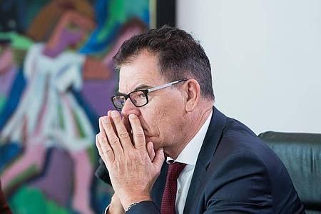 Bundesentwicklungsminister Gerd Müller will 2021 nicht mehr für den Bundestag kandidieren . Foto: Bernd von Jutrczenka/dpa