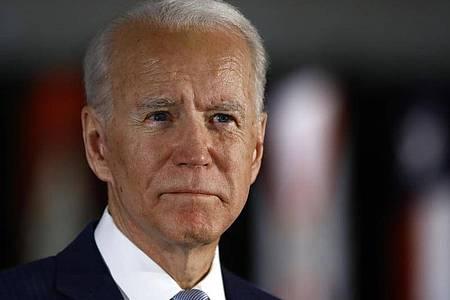 Joe Biden hat die wichtige Vorwahl inFlorida gewonnen. Foto: Matt Rourke/AP/dpa