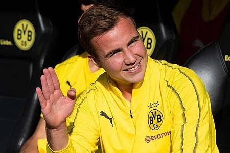 Will in Zukunft noch die Champions League gewinnen:Mario Götze. Foto: Bernd Thissen/dpa