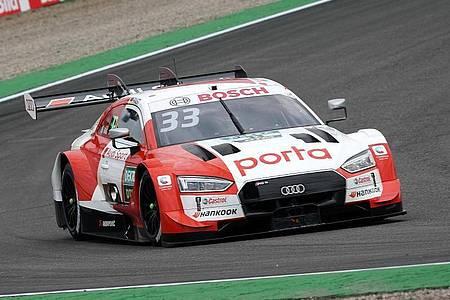 Zum dritten Mal DTM-Gesamtsieger: Audi-Pilot René Rast. Foto: Hasan Bratic/dpa