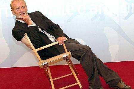 Mann mit schrägem Humor: Bill Murray. Foto: Claudio Onorati Ansa/epa/dpa