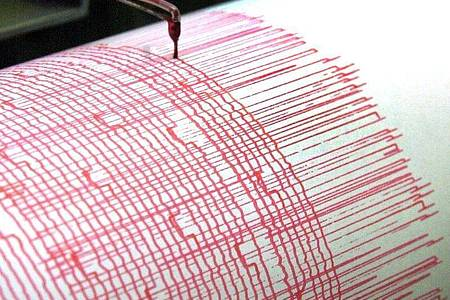 Ein Seismograph zeichnet die Ausschläge eines Erdbebens auf. Foto: Bernd Thissen/dpa