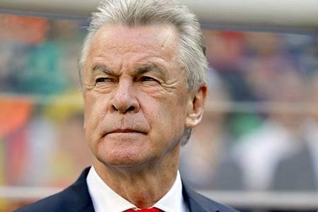 Ottmar Hitzfeld hebt die Mannschaftsführung von Trainer-Kollege Hansi Flick hervor. Foto: Robert Ghement/EPA/dpa