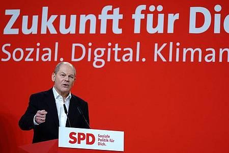 SPD-Kanzlerkandidat Olaf Scholz. Foto: Kay Nietfeld/dpa