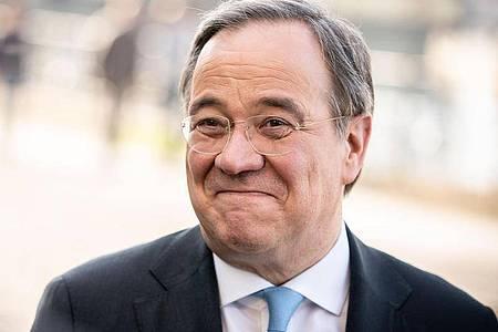 Der Unions-Kanzlerkandidat Armin Laschet muss seine CDU und die Schwesterpartei CSU wieder vereinen. Foto: Kay Nietfeld/dpa