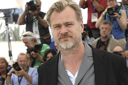 Regisseur Christopher Nolan 2018 in Cannes. Foto: Arthur Mola/Invision/AP/dpa