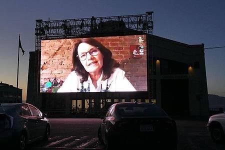 Filmregisseurin Caroline Link wurde beim Filmfestival in San Francisco gefeiert. Foto: Barbara Munker/dpa