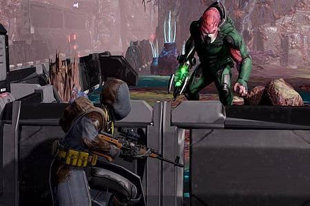 Hochspannung:Die taktischen Gefechte von «XCOM2» haben auch auf der Switch nichts von ihrer Faszination verloren. Foto: 2K Games/dpa-tmn