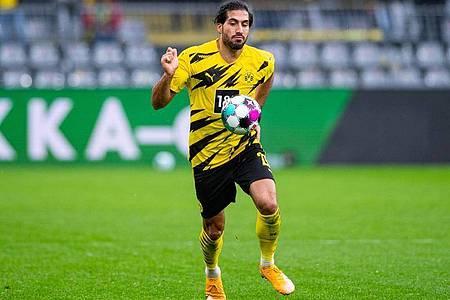 Dortmunds Emre Can ist positiv auf das Coronavirus getestet worden. Foto: Guido Kirchner/dpa