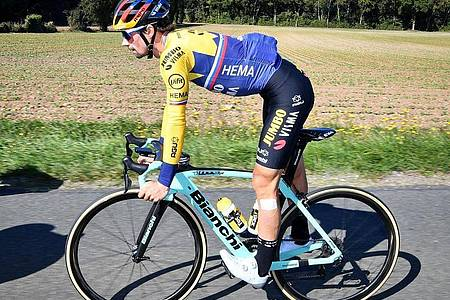 Primoz Roglic hat das Rennen Lüttich-Bastogne-Lüttich gewonnen. Foto: David Stockman/BELGA/dpa