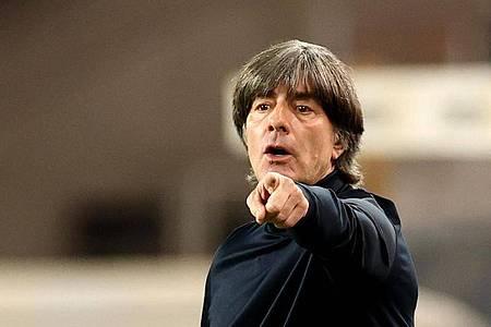 Geht optimistisch ins EM-Jahr: Bundestrainer Joachim Löw. Foto: Christian Charisius/dpa