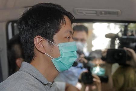 Der pro-demokratische Gesetzgeber Ted Hui ist im Zusammenhang mit den prodemokratischen Protesten festgenommen worden. Foto: Kin Cheung/AP/dpa