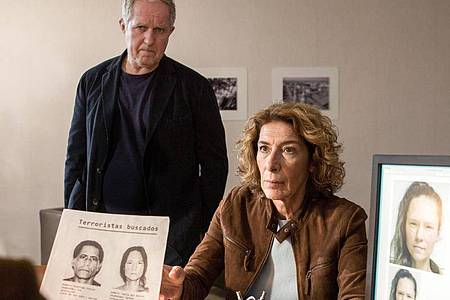 Kommissar Moritz Eisner (Harald Krassnitzer) und seine Kollegin Bibi Fellner (Adele Neuhauser) ermitteln wieder. Foto: Anjeza Cikopano/ARD/Degeto/ORF/Lotus Film/dpa