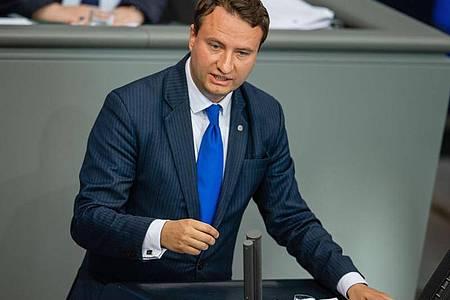 Aus dem Bundestag hat er sich bereits zurückgezogen:Mark Hauptmann. Foto: Lisa Ducret/dpa