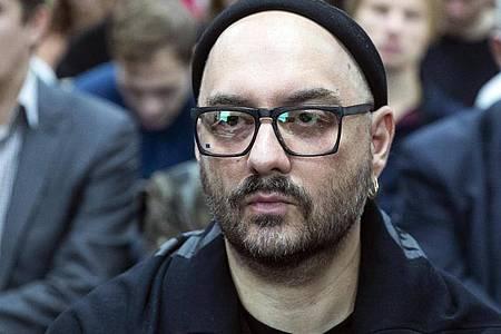 Der russische Theater- und Filmregisseur Kirill Serebrennikow konnte nicht nach Cannes kommen. Foto: Pavel Golovkin/AP/dpa