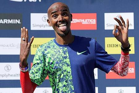 Geht ins Dschungelcamp: Mo Farah. Foto: Richard Sellers/PA Wire/dpa