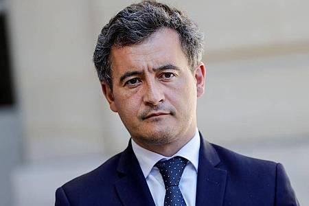 Frankreichs neuer Innenminister Gérald Darmanin reist nach Bayonne. Foto: Thomas Samson/AFP/dpa