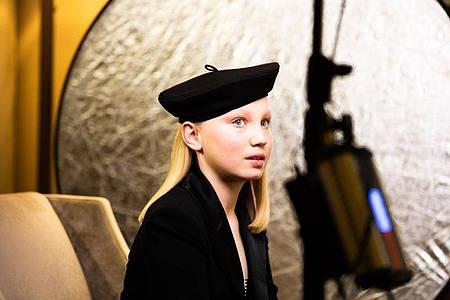 Die zwölfjährige Helena Zengel bekam war keinen Golden Globe, kann aber trotzdem stolz sein. Foto: Magdalena Höfner/magdalena hoefner photography /dpa