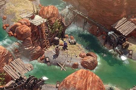 Eine Hand voll Revolverhelden: «Desperados III» ist ein kniffliges Taktikspiel im wilden Westen. Foto: Mimimi Games/dpa-tmn