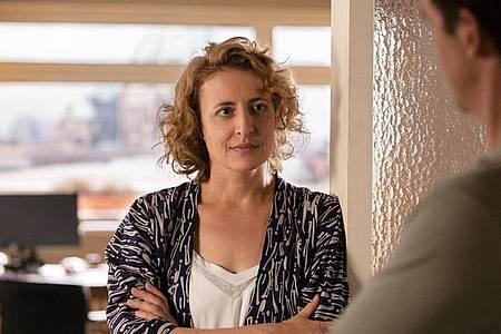 Für ihre Hauptrolle in «Ich bin dein Mensch» (Szenenfoto) wurde Maren Eggert mit einem Silbernen Bären ausgezeichnet. Foto: Christine Fenzl/Berlinale/dpa