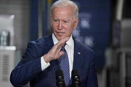 Joe Biden macht beim Impfen Druck. Foto: Evan Vucci/AP/dpa