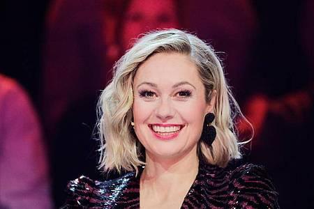 Ruth Moschner gehörte schon in Staffel 2 zum Rateteam der Prosieben-Show «The Masked Singer». Foto: Rolf Vennenbernd/dpa