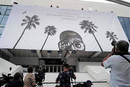 Die Filmfestspiele in Cannes beginnen am 06. Juli. Foto: Valery Hache/AFP/dpa