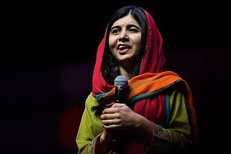 Malala Yousafzai will die Menschen zusammenbringen. Foto: Brendan Esposito/AAP/dpa