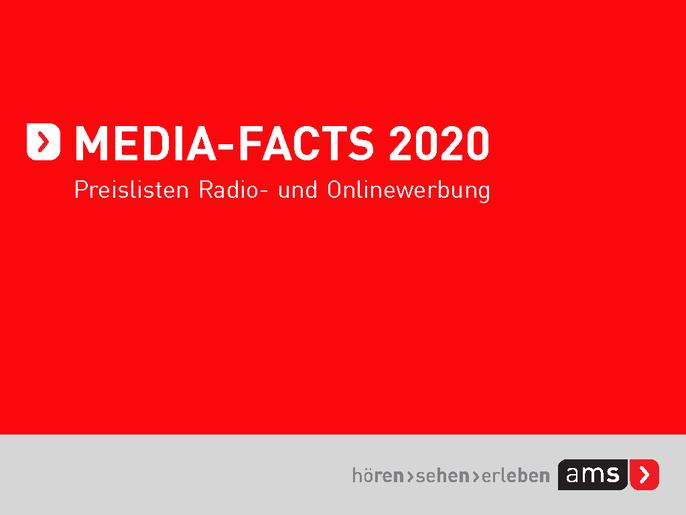 Cover der Media-Facts 2020