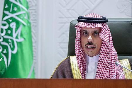 Der saudische Außenminister Faisal bin Farhan. Foto: -/Saudi Press Agency/dpa