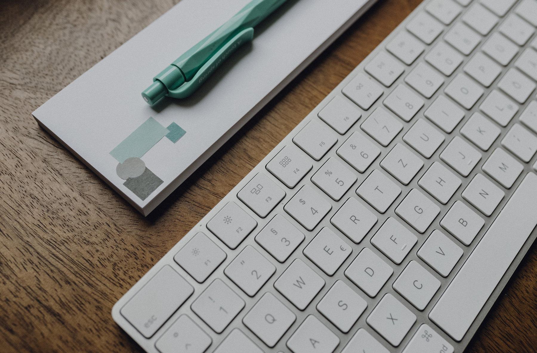 Schreibtisch-Tastatur