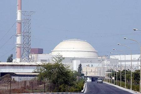Das iranische Atomkraftwerk Buschehr. Foto: ABEDIN TAHERKENAREH/epa/dpa