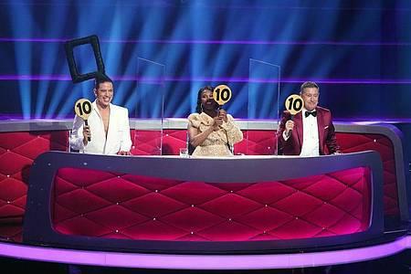 Die RTL-Tanzshow «Let`s Dance» hat sich den Quotensieg gesichert. Foto: Stefan Gregorowius/dpa