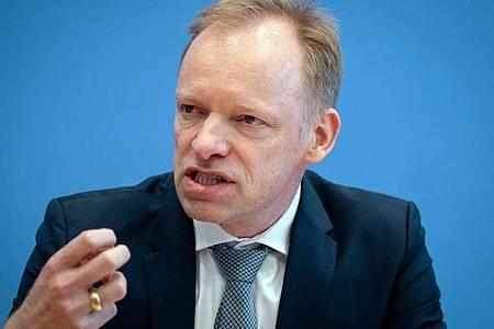 Ifo-Präsident Clemens Fuest. Foto: Kay Nietfeld/dpa