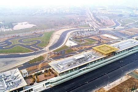Auf der neuen Formel-1-Rennstrecke in Hanoi wird 2021 wohl auch nicht gefahren. Foto: Vietnam Grand Prix Corporation/VGPC /dpa