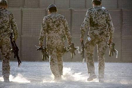 Bundeswehrsoldaten in Afghanistan. Foto: picture alliance / dpa