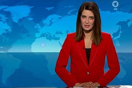 Zum letzten Mal die aktuellen Nachrichten präsentiert: Linda Zervakis. Foto: -/ARD/dpa