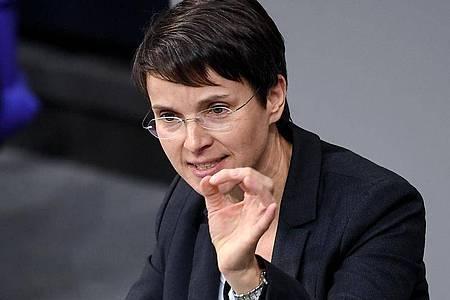 Frauke Petry ist derzeit als Fraktionslose im Bundestag vertreten. Foto: Britta Pedersen/dpa-Zentralbild/dpa