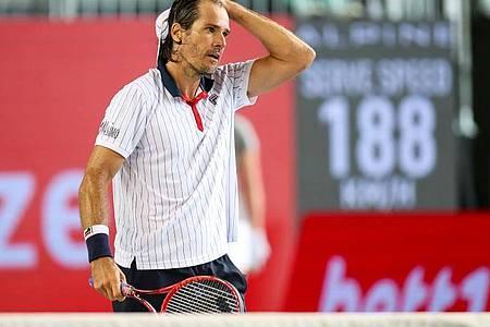 Spielt erstmals gegen Dominic Thiem: Tommy Haas. Foto: Andreas Gora/dpa
