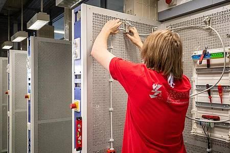 Das Elektrohandwerk wird stark von der Digitalisierung beeinflusst. Deswegen gibt es ab August modernisierte Ausbildungsinhalte. Foto: Christoph Schmidt/dpa/dpa-tmn