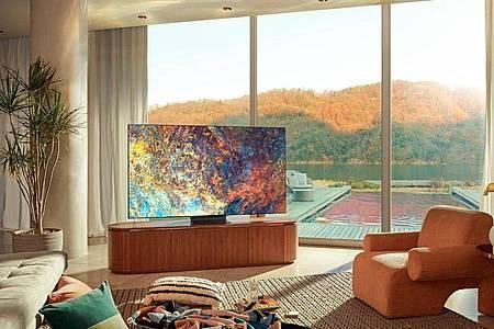 Samsungs Neo-QLED-Fernseher setzen auf Hintergrundbeleuchtung mit Mini-LED-Technik. Foto: Samsung/dpa-tmn